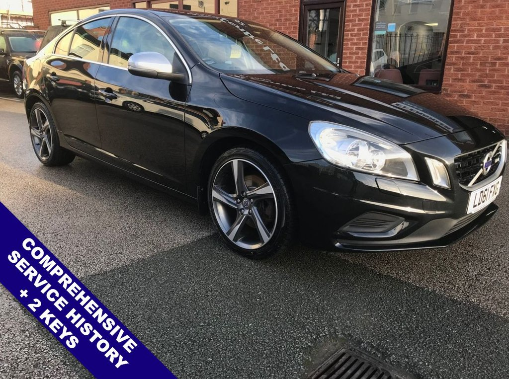 """USED 2011 61 VOLVO S60 1.6 DRIVE R-DESIGN S/S 4d 113 BHP DAB Radio   :   Satellite Navigation   :   USB & AUX   :   Cruise Control / Speed Limiter      Bluetooth Connectivity   :   R-Design Steering Wheel & Front Seats   :   Heated Front Seats      Rear Parking Sensors   :   18"""" Alloy Wheels   :   2 Keys   :   Comprehensive Service History"""