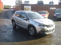 USED 2017 PEUGEOT 2008 1.6 BLUE HDI S/S ALLURE 5d 100 BHP * half leather & Bluetooth *