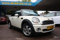 USED 2010 10 MINI CONVERTIBLE 1.6 ONE 2dr 98 BHP CONVERTIBLE NEED FINANCE??? APPLY WITH US!!!
