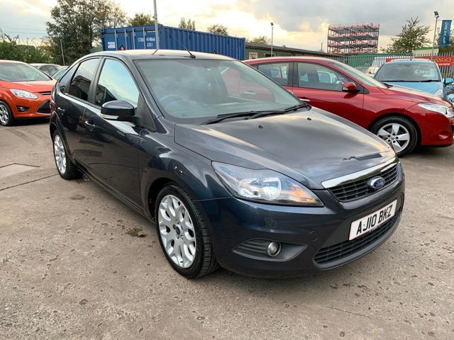 USED 2010 10 FORD FOCUS 1.8 ZETEC 5d 125 BHP SERVICE HISTORY