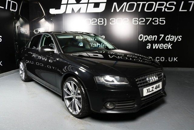 2010 AUDI A4 2.0 TDI SE BLACK EDITION STYLE 143 BHP (FINANCE AND WARRANTY)