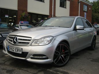 2012 MERCEDES-BENZ C CLASS 2.1 C200 CDI BLUEEFFICIENCY EXECUTIVE SE 4d 135 BHP £6988.00