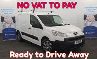 USED 2011 11 PEUGEOT PARTNER 1.6 HDI S 850 90 BHP ++ NO VAT TO PAY ++  Full Mot and Service,  **Drive Away Today** Over The Phone Low Rate Finance Available