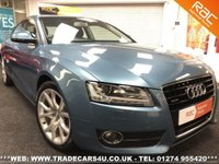 USED 2008 58 AUDI A5  3.2 FSI QUATTRO SPORT COUPE 6 SPEED MANUAL UK DELIVERY* RAC APPROVED* FINANCE ARRANGED* PART EX