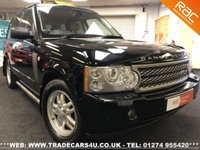 USED 2006 LAND ROVER RANGE ROVER 3.0 TD6 HSE LIKE VOGUE DIESEL AUTO 4X4 UK DELIVERY* RAC APPROVED* FINANCE ARRANGED* PART EX