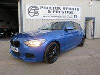 USED 2012 12 BMW 1 SERIES 2.0 118D M SPORT 5 DOOR + 6 SPEED MAN + FSH + 2 KEYS
