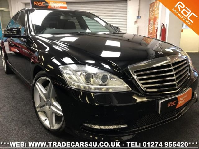 2013 13 MERCEDES-BENZ S CLASS  S350L CDI 7G-TRONIC PLUS AMG SPORT EDITION LWB LIMO
