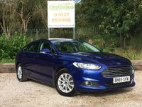 USED 2015 65 FORD MONDEO 2.0 ZETEC ECONETIC TDCI 5dr £20 Tax, 1 Owner, FFSH