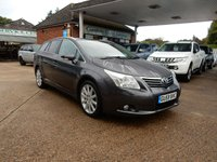 USED 2009 59 TOYOTA AVENSIS 2.2 T SPIRIT D-4D 5d 148 BHP GOOD HISTORY,HEATED SEATS,LEATHER,GLASS ROOF,CRUISE