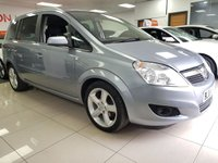 USED 2008 08 VAUXHALL ZAFIRA 1.8 SRI 5d+7 SEATS+LOW MILEAGE+LONG MOT+ALLOYS+AIR CON