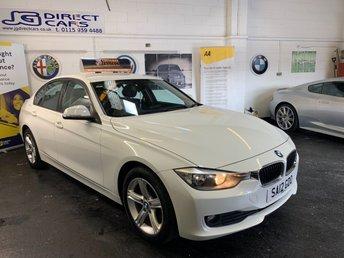2012 BMW 3 SERIES 2.0 320D SE 4d 184 BHP £7990.00