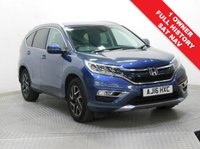 USED 2016 16 HONDA CR-V 2.0 I-VTEC SE PLUS NAVI 5d 153 BHP Stunning Honda CR-V 2.0 I-VTEC SE PLUS NAVI, having had just 1 Previous Owner and comes with Full Service History. In addition comes with a great specification including SAT NAV, Reversing Camera, Front & Rear Parking Sensors, Privacy Glass, Cruise Control, Bluetooth, Air Conditioning, Leather Multi-Functional Steering Wheel, 2 Keys,  comes in metallic Twilight Blue l and has an MOT to 26th June 2020. Nationwide Delivery Available. finance Available at 9.9% APR Representative.