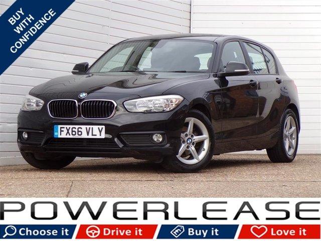 USED 2016 66 BMW 1 SERIES 1.5 116D ED PLUS 5d 114 BHP SATNAV 1 OWNER FULL HISTORY