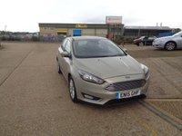 USED 2015 15 FORD FOCUS 1.6 TITANIUM 5d AUTO 124 BHP