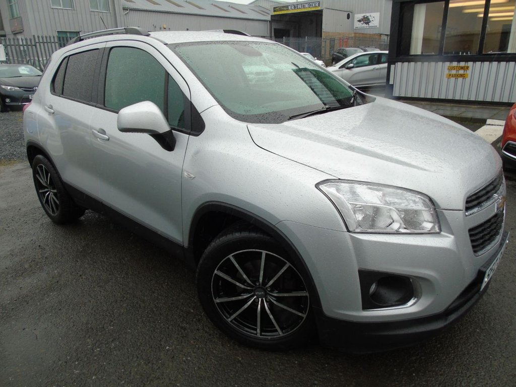 USED 2014 CHEVROLET TRAX 1.6 LS 5d 113 BHP £115 a month T&C'S apply.