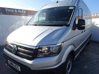 USED 2018 18 VOLKSWAGEN CRAFTER CR35 TDI L H/R P/V TREDLINE 2.0 CR35 TDI L H/R P/V STARTLINE 138 BHP VOLKSWAGEN CRAFTER LWB EURO 6..MEDIA SUITE AIRCON REAR & FRONT SENSORS