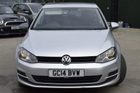 USED 2014 14 VOLKSWAGEN GOLF 1.4 TSI BlueMotion Tech S DSG (s/s) 5dr FSH,FINANCE,WARRANTY,DAB,ULEZ