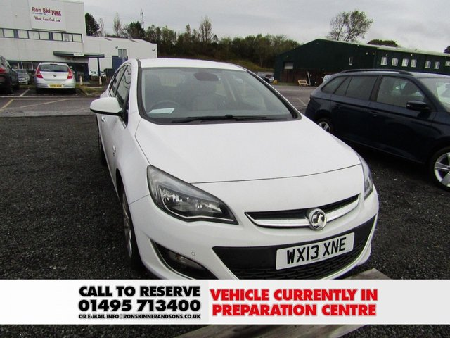 View our 2013 13 VAUXHALL ASTRA 2.0 ELITE CDTI S/S 5d 163 BHP