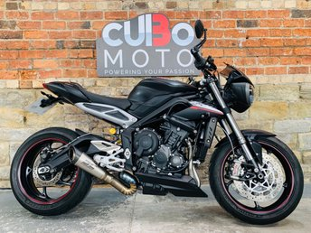 2018 TRIUMPH STREET TRIPLE 765 RS £7990.00