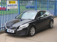 USED 2011 11 VOLVO C30 1.6 DRIVE ES S/S 3d 113 BHP Low Miles,Volvo C30 with alloys,air conditioning and service history