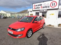 2013 VOLKSWAGEN POLO 1.2 MATCH EDITION 3d 59 BHP £5195.00