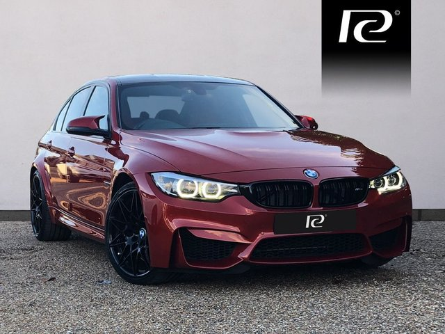 2017 67 BMW M3 3.0 M3 COMPETITION PACKAGE 4d AUTO 444 BHP