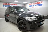 USED 2015 64 BMW X5 3.0 XDRIVE30D M SPORT 5d AUTO 255 BHP Xenon Headlights, Sat Nav, Full Leather, Park sensors, Cruise control