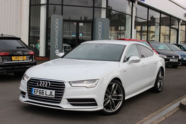 USED 2016 66 AUDI A7 3.0 TDI V6 S line Sportback S Tronic quattro (s/s) 5dr