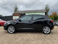 USED 2016 16 SEAT IBIZA 1.0 VISTA 5d 74 BHP ONE OWNER, ALLOYS, AIR CONDITIONING, CRUISE CONTROL, REAR PARKING SENSORS, 4 SERVICE STAMPS, NEW MOT
