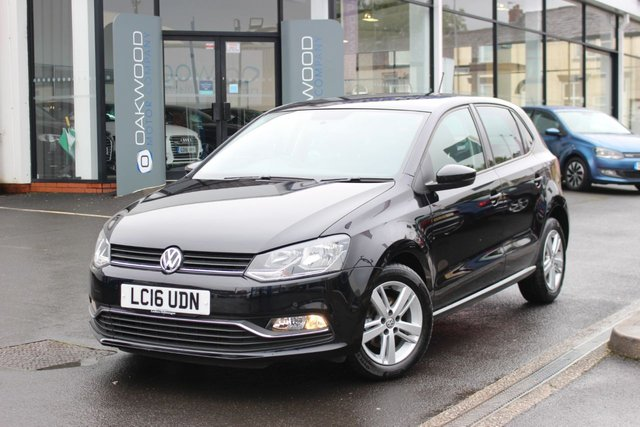 USED 2016 16 VOLKSWAGEN POLO 1.0 TSI BlueMotion Tech Match (s/s) 5dr