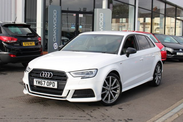 USED 2018 67 AUDI A3 1.5 TFSI CoD Black Edition Sportback S Tronic (s/s) 5dr