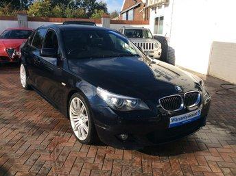 2008 BMW 5 SERIES 3.0 530D M SPORT 4d AUTO 232 BHP £5995.00
