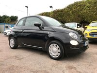 2016 FIAT 500 1.2 POP 3d ONE PRIVATE OWNER FROM NEW  £5000.00