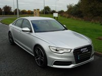 USED 2011 61 AUDI A6 3.0 TDI QUATTRO S LINE 4d AUTO 245 BHP SAT NAV, XENON, HEATED LEATHER