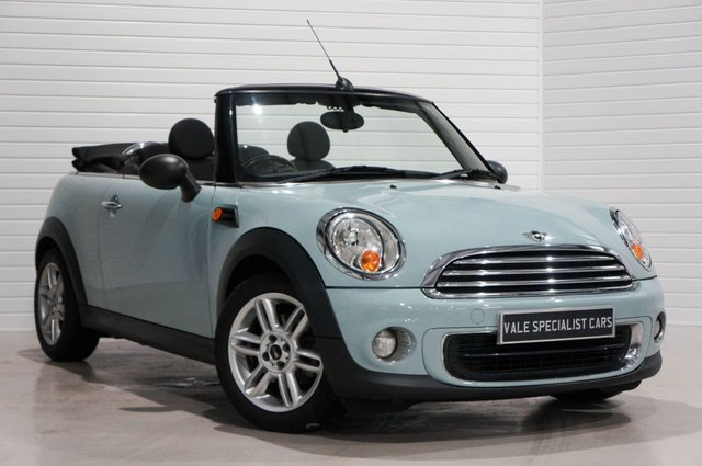 2011 11 MINI CONVERTIBLE 1.6 ONE (Pepper Pack)