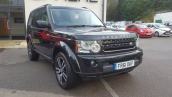 2011 LAND ROVER DISCOVERY 3.0 4 SDV6 LANDMARK LE 5d 245 BHP £SOLD