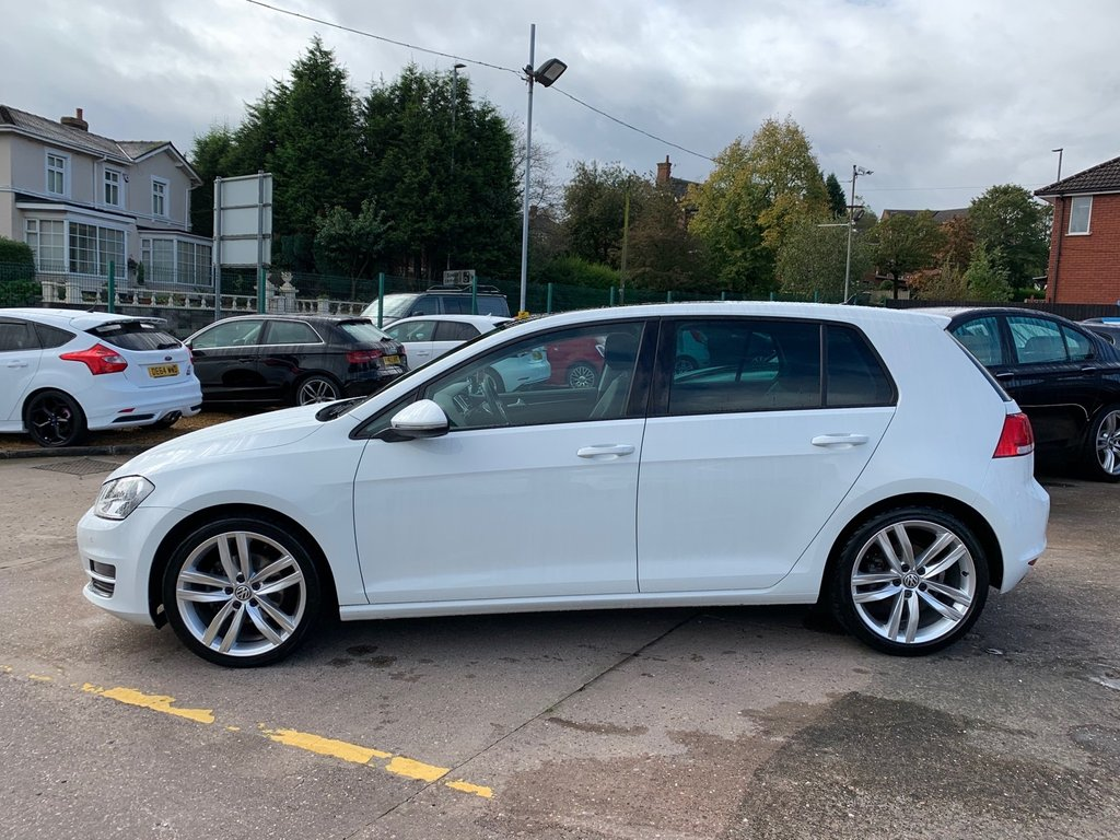 USED 2016 16 VOLKSWAGEN GOLF 2.0 GT EDITION TDI BLUEMOTION TECHNOLOGY 5d 148 BHP