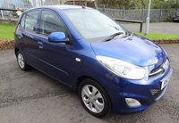 USED 2012 12 HYUNDAI I10 1.2 ACTIVE 5d 85 BHP Stunning Wee Car - Low Miles, Full Service History, One Previous Owner