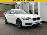 USED 2014 14 BMW 1 SERIES 1.6 116I SPORT 5d 135 BHP HEATED SEATS + COMFORT PACK + 27,000 MILES!