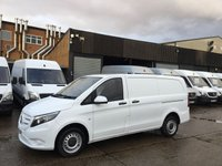 USED 2016 16 MERCEDES-BENZ VITO 1.6 111CDI LONG 114BHP NEW SHAPE. LOW 41K MLS. CAMERA. PX 1 OWNER. REVERSE CAMERA. LOW 41K MILES. FINANCE PX