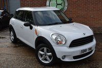 2011 MINI COUNTRYMAN 1.6 ONE 5d 98 BHP £6390.00
