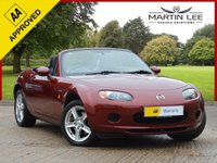 USED 2007 57 MAZDA MX-5 1.8 ICON 2d 125 BHP OUTSTANDING EXAMPLE WITH FULL LEATHER