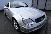 USED 2000 W MERCEDES-BENZ SLK 3.2 SLK320 2d 218 BHP * HEATED LEATHER SEATS *