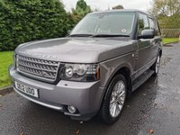 USED 2012 j LAND ROVER RANGE ROVER 4.4 TDV8 WESTMINSTER 5d 313 BHP Massive Spec, Excellent Condition throughout.