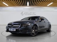 """USED 2012 12 MERCEDES-BENZ CLS CLASS 3.0 CLS350 CDI SPORT AMG 4d AUTO 265 BHP Sat Nav   Leather   19"""" Alloys"""