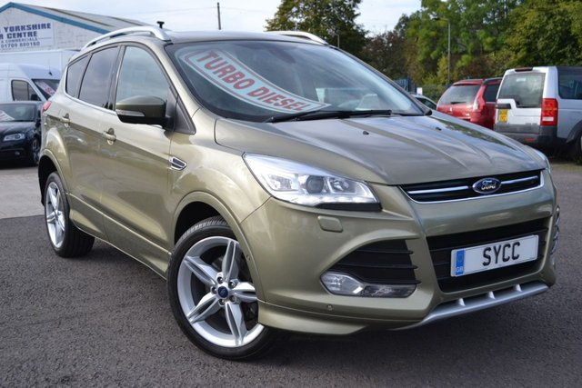 USED 2014 14 FORD KUGA  2.0 TDCi Titanium X Sport AWD 5dr 160 BHP ~ Pan Roof ~ Sat Nav HUGE SPECIFICATION CAR ~ PAN ROOF ~ SAT NAV ~ HEATED LEATHER