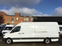 USED 2014 14 MERCEDES-BENZ SPRINTER 2.1 313CDI LWB HIGH ROOF 130BHP. FINANCE. 116K MLS. CLEAN. PX NEW DISCS + PADS. LOW FINANCE. WARRANTY. PX WELCOME.
