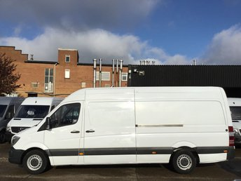 2014 MERCEDES-BENZ SPRINTER 2.1 313CDI LWB HIGH ROOF 130BHP. FINANCE. 116K MLS. CLEAN. PX £8990.00