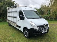 USED 2015 15 RENAULT MASTER 2.3 LM35 BUSINESS DCI 110 BHP GLASS RACK