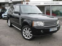 USED 2006 06 LAND ROVER RANGE ROVER 4.2 V8 SUPERCHARGED 5d AUTO 391 BHP Two private owners. Full Service History. Recent service 4.2 Supercharged petrol.